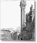 Italy: Siena, 19th Century Metal Print by Granger