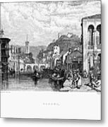 Italy: Verona, 1833 Metal Print