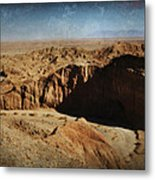 It's A Big Desert Out There Metal Print