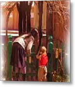It's About The Gate Metal Print by Feva  Fotos