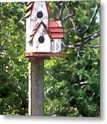 It's For The Birds Metal Print