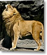 It's Good To Be The King Metal Print
