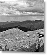 It's Raining In The Distance Metal Print