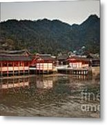 Itsukushima Shrine On Miyajima Island Metal Print