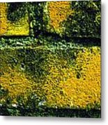Ivy And Old Wall Metal Print