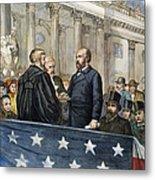 J. A. Garfield: Inauguration Metal Print by Granger