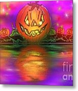 Jack And Friends By The Waters Edge Metal Print