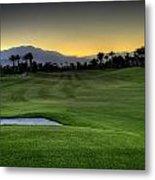 Jack Nicklaus Golf Course Metal Print