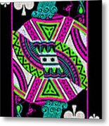 Jack Of Spades Metal Print by Wingsdomain Art and Photography