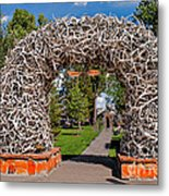 Jackson Hole Metal Print by Robert Bales