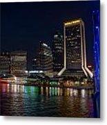 Jacksonville Florida Riverfront Metal Print