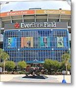 Jacksonville Jaguars Stadium Metal Print
