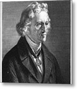 Jacob Grimm (1785-1863) Metal Print
