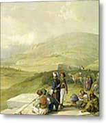 Jacobs Well At Shechem  Metal Print