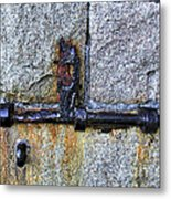 Jail Bolt Metal Print