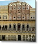 Jaipur Beauty Metal Print