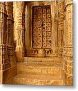 Jaisalmer Palace Metal Print