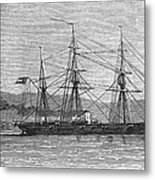Jamaica: Css Alabama, 1863 Metal Print