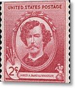 James A. Mcneill Whistler Metal Print