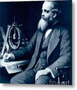 James Clerk Maxwell, Scottish Physicist Metal Print