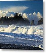 James Island Surf Metal Print