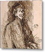 James Mcneill Whistler 1834-1903 Metal Print