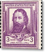 James Russell Lowell Metal Print