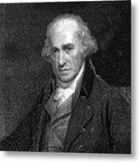 James Watt, Scottish Engineer Metal Print