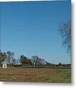 Jamestown Windmill Metal Print