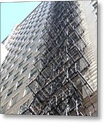 Jammer Architecture 010 Metal Print