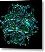 Jammer Chess In Motion Metal Print