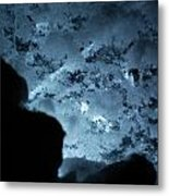 Jammer Deep Blue 001 Metal Print