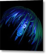 jammer Space Jelly  Metal Print