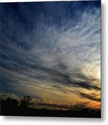 January Sunset 2012 Metal Print