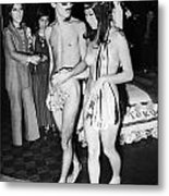 Japan: Nude Wedding, 1970 Metal Print
