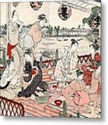 Japan: Restaurant, C1786 Metal Print