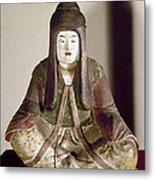 Japan: Statue, 9th Century Metal Print