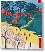 Japan: Temple Gardens Metal Print