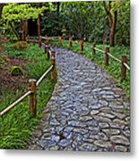 Japanese Tea Garden Path Metal Print