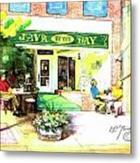 Java By The Bay Metal Print
