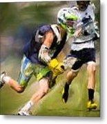 Jaxx Lacrosse 1 Metal Print