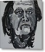 Jay - Self Metal Print by Jay Manne-Crusoe