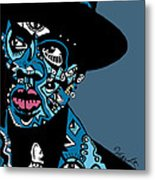 Jay Z  Full Color Metal Print