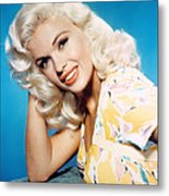 Jayne Mansfield, 1950s Metal Print by Everett
