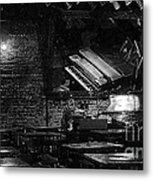 Jazz Bar In New Orleans Metal Print