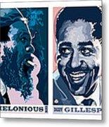 Jazz Portrait Series Part 1 Metal Print