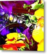 Jazz The Color Of Sound Metal Print