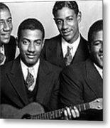 Jazz Vocal Quartet The Mills Brothers Metal Print by Everett