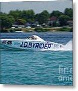 J.d. Byrider Offshore Racing Metal Print