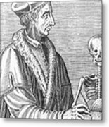 Jean Fernel, French Physician Metal Print